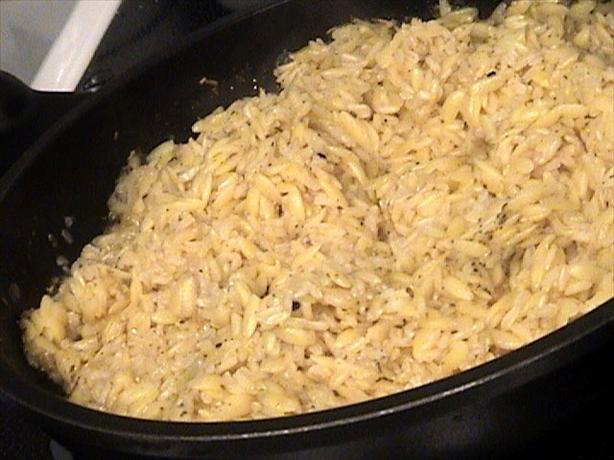 Rice Pilav With Orzo