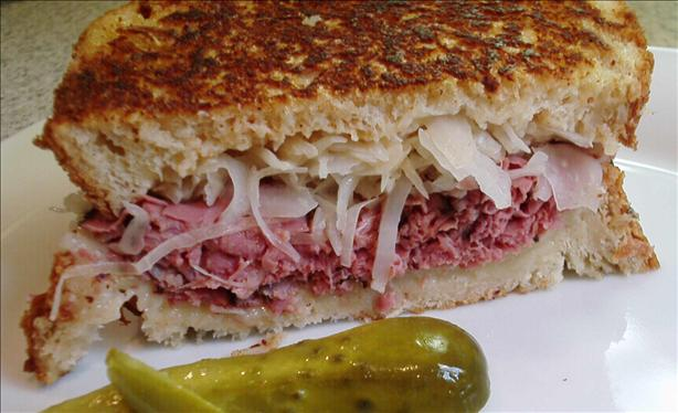 Delicious Reuben Bread (Abm)