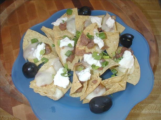 Nachos Agrios (Sour Cream Nachos)