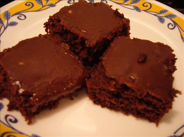 Gramma's Fudge Cake