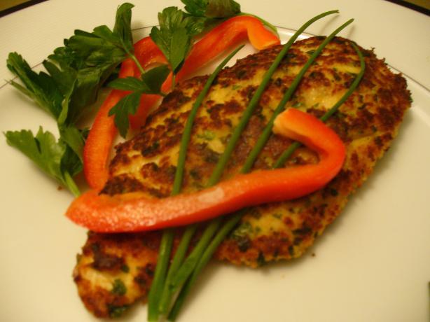 Maureen's Chicken Schnitzel-Lite