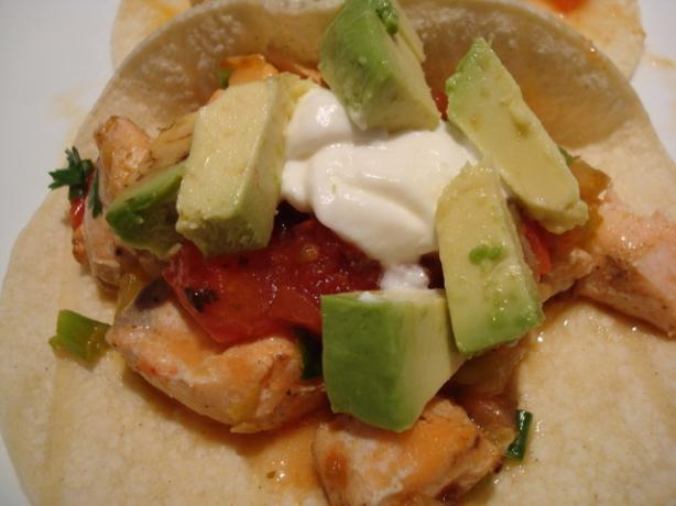 Amazing Salmon Tacos