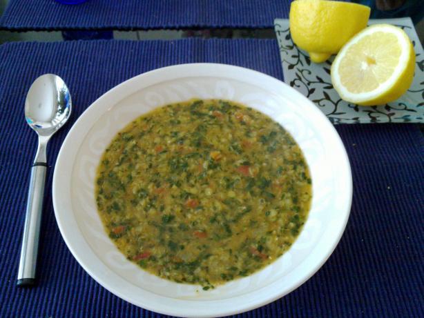 Pronoti's Lentil Soup