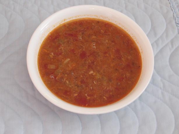 Salmon Soup Oscar