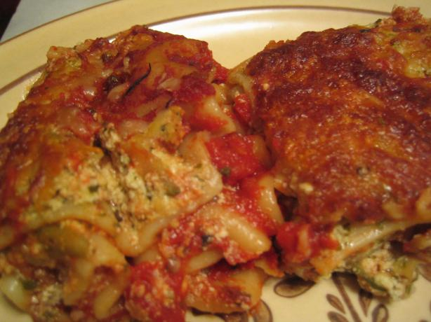 Cheese & Pesto Lasagna