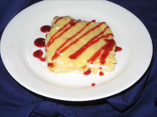 Easy Strawberry 'napoleon'