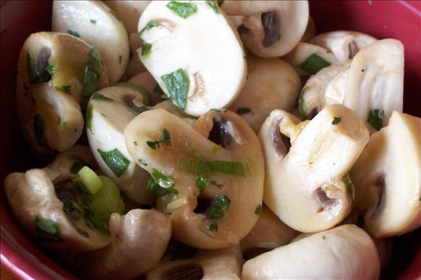 Chilled Mushroom Salad