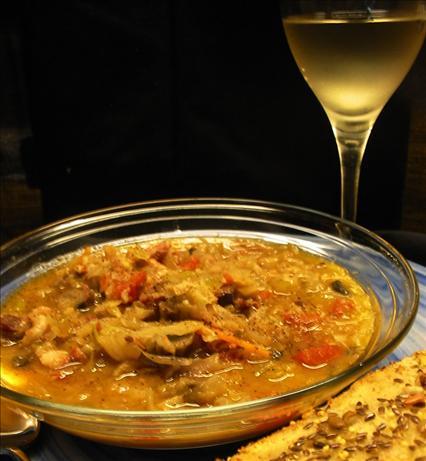 Rebollita ( Italian Cabbage Soup)