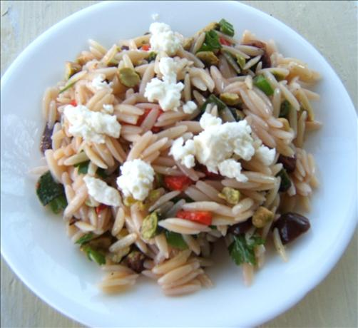Orzo Summa Domae (Greek Orzo Salad)