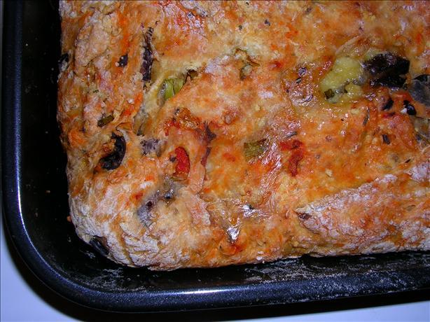 Savory Shrimp and Couscous Pie