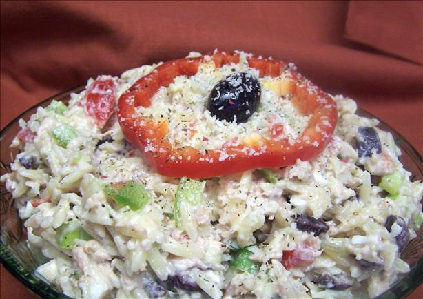 Tuna Pasta Salad With Yogurt Dill Sauce
