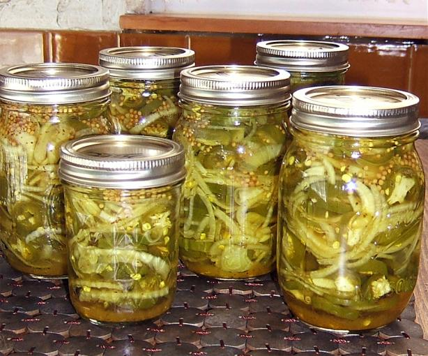 Jalapenos - Bread & Butter Style