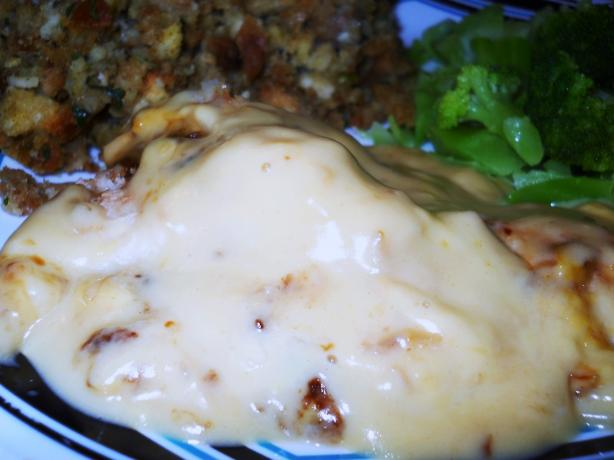 Baked Creamed Chicken