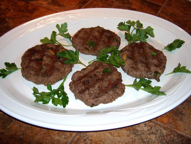 Tangy Lamb Patties