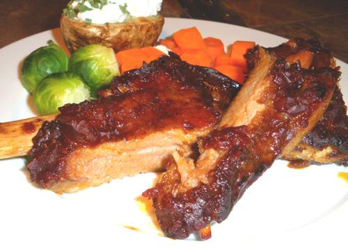 Ginger and Spice Ribs