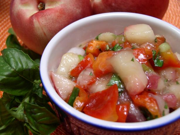 Nectarine Relish for Chicken