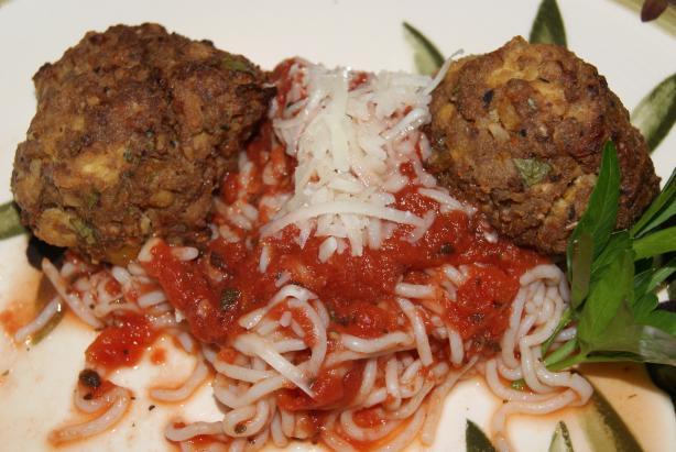 """Spaghetti & Tofu """" Meatballs """""""