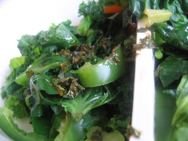 Sweet Herby Greens
