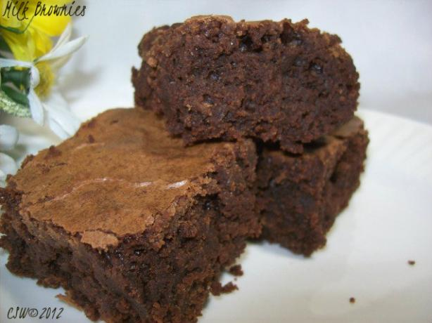 Milk Brownies