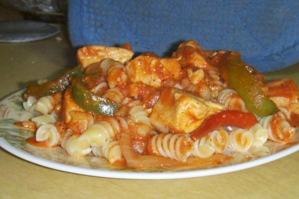 Tequila Chicken Pasta