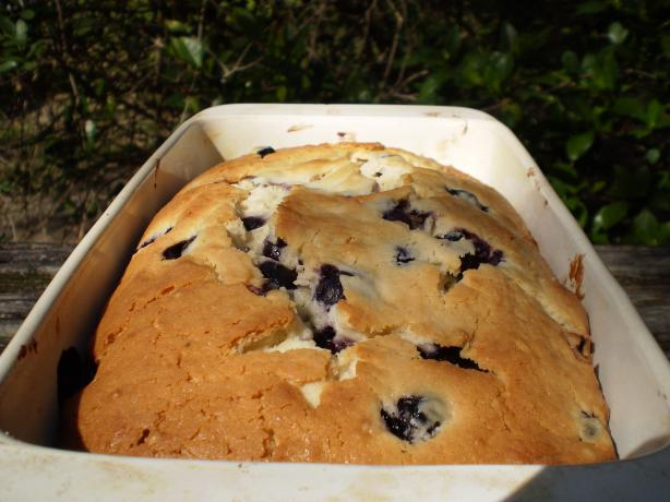 Blueberry Pudding Loaf