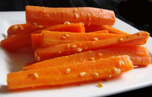 Orange Sesame Carrots