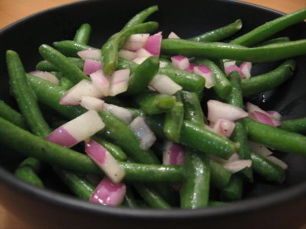 Chilled Green Bean Vinaigrette