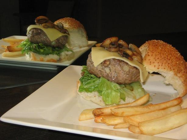 Beef Burgers from N Z