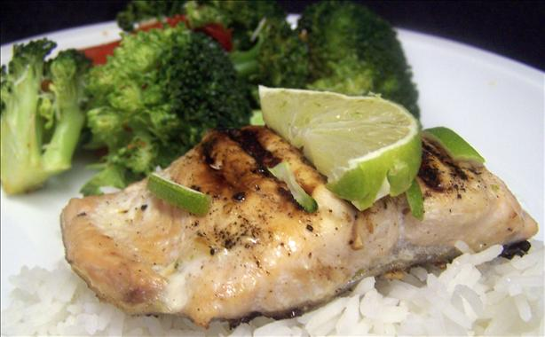 Grilled Oriental Salmon