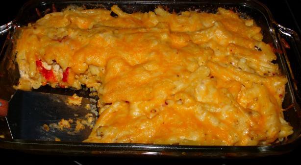 Chicken Macaroni Southwestern Style