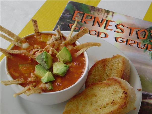 Dionicia's Famous Chicken Tortilla Soup