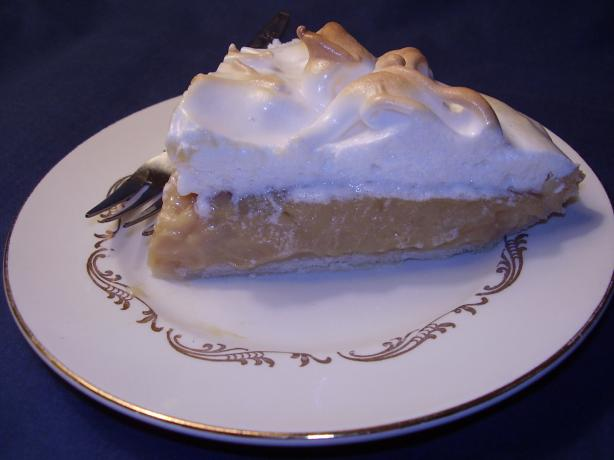 Jolean's Butterscotch Pie, Pennsylvania Dutch Style