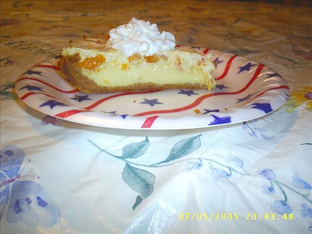 Creamy Orangesicle Pie