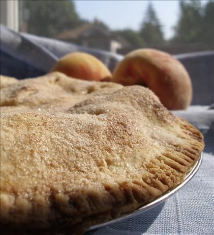 Simple Peach Pie