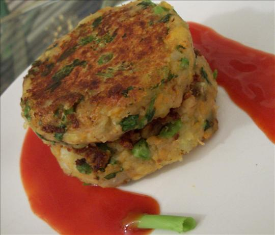 Indian-Seasoned Vegetable Patties