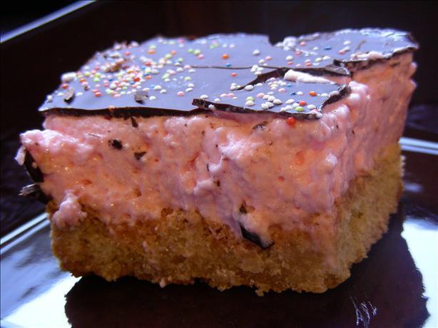 Marshmallow Shortcake Slice