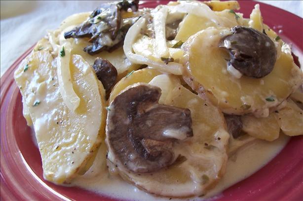 Potato Mushroom Bake