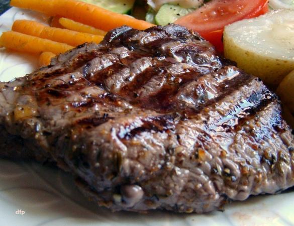 Herb Grilled Steak