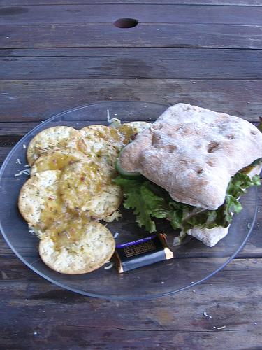 Herbed Crackers