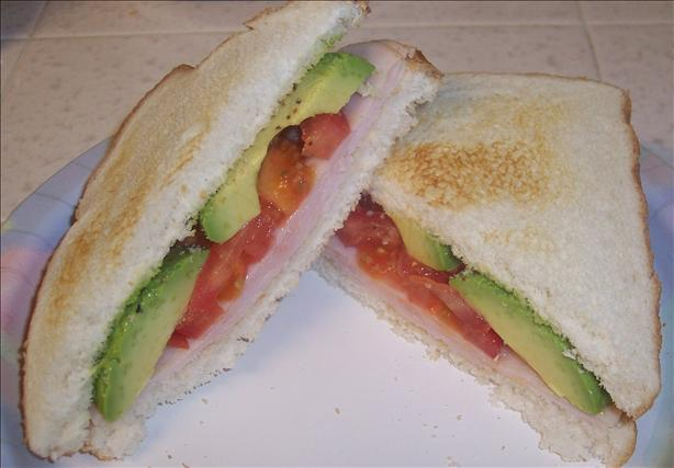 An Avocado-Licious Sandwich