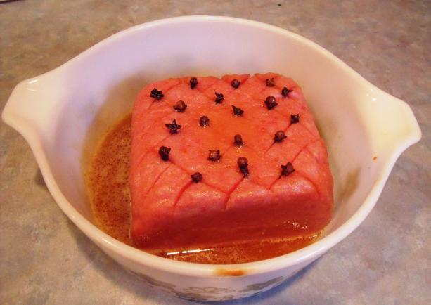 Jolean's Baked Spam Loaf