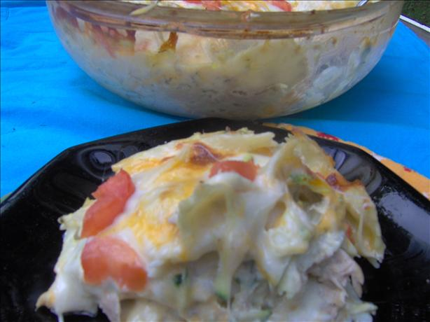 Jazzed up Tuna Casserole