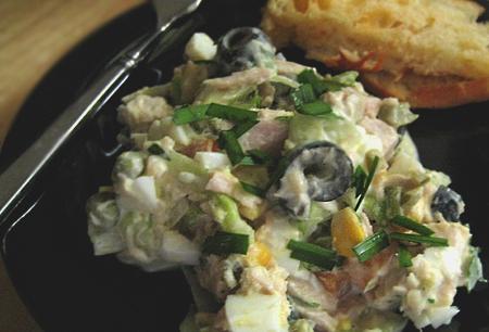Yolie's Unique Tuna Salad