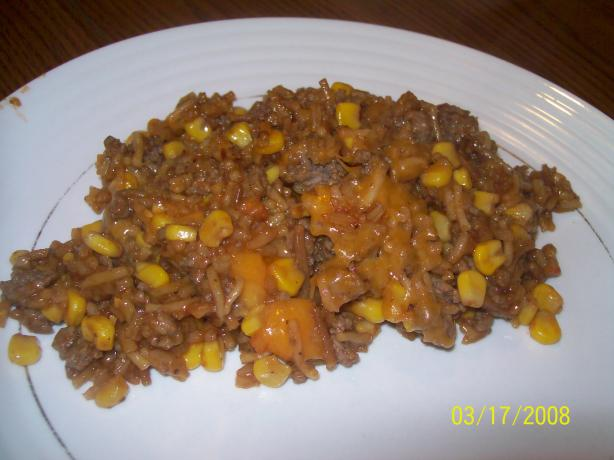 BBQ Rice and Beef Roundup