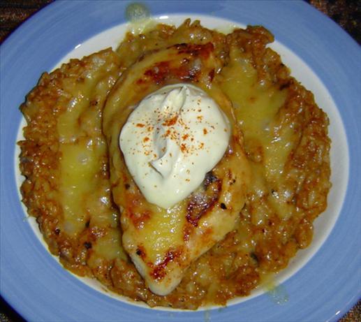 Creamy Chicken Taco Skillet