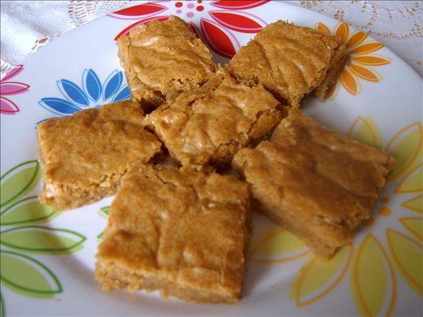 Chewy Blonde Brownies