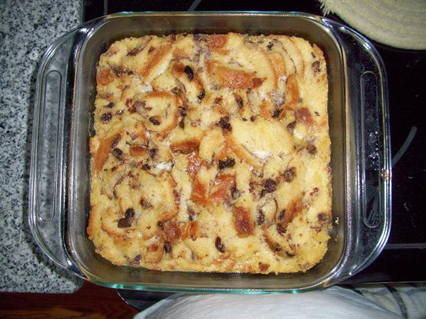 Cinnamon Swirl Raisin Bread Pudding