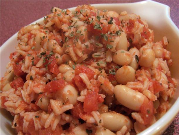 Italian Style Rice and Beans