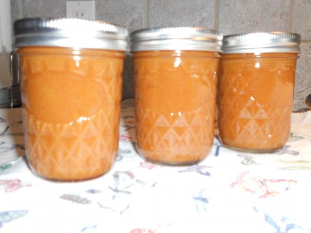 Audrey's Golden Peach Butter