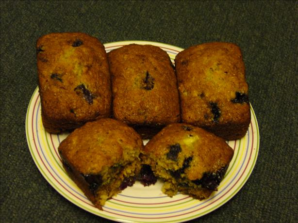 Blueberry Banana Loaf